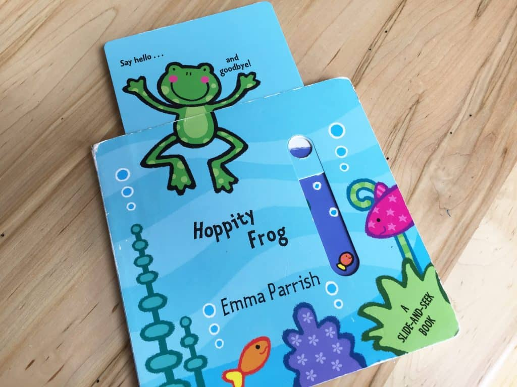 Hoppity Frog by Emma Parrish