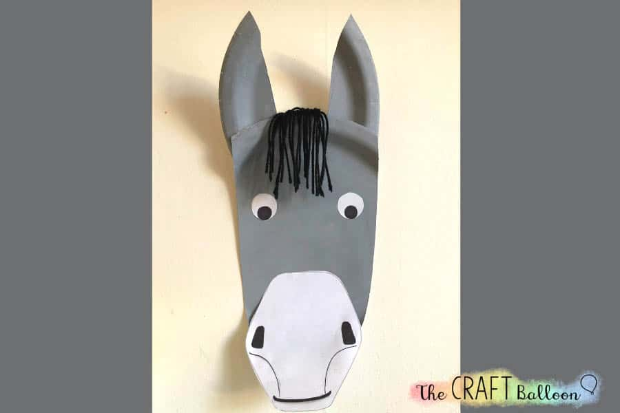 PAPER PLATE DONKEY FEATURED IMAGE